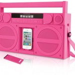 iHome iP4GZ Retro iPhone & iPod Boombox