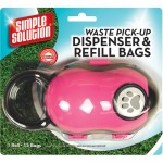 Simple Solution Waste Pick-Up Dispenser and Refill Bags