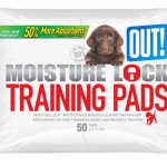 OUT! Training Pads with Moisture Lock