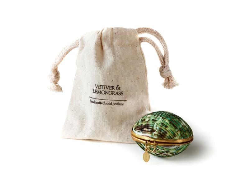 Vetiver and Lemongrass Solid Perfume