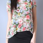 Flora High-Low Blouse from Gracie B.