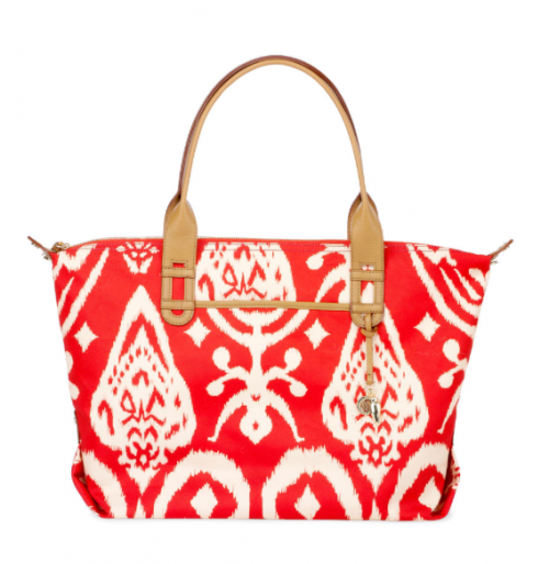 How Does She Do It Bag Red Ikat Stella Dot