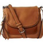 Aimee Kestenberg Leather Flap Front Crossbody Bag