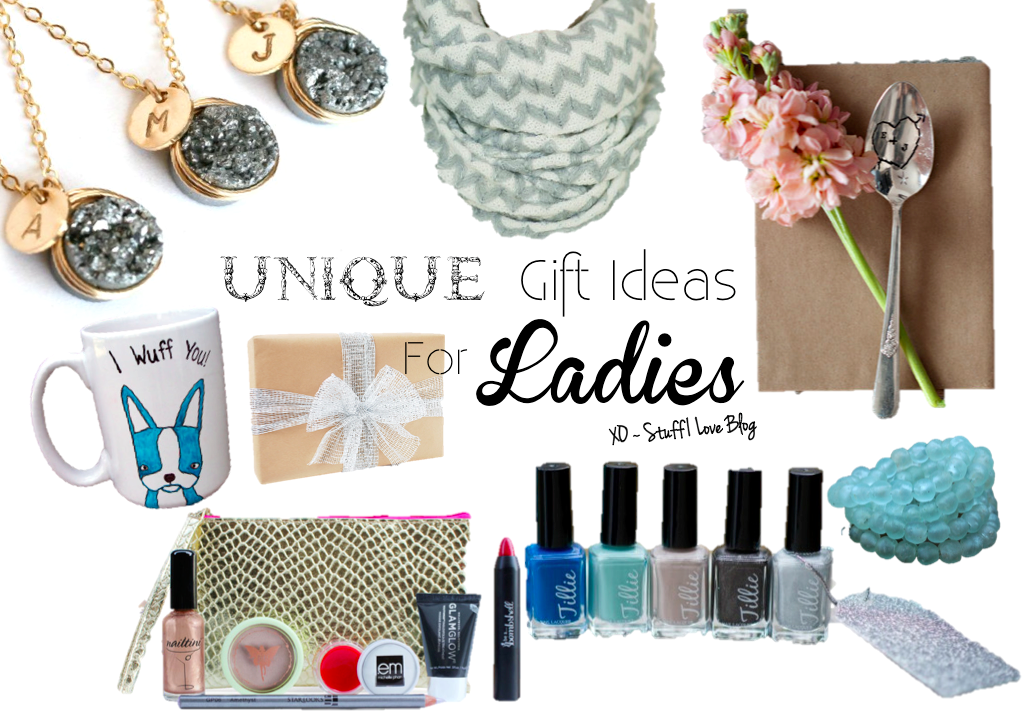 Unique Gift Ideas For Ladies Stuff I Love Blog Shop