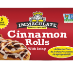 Cinnamon Rolls from the Immaculate Baking Co.