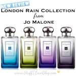London Rain Collection from Jo Malone