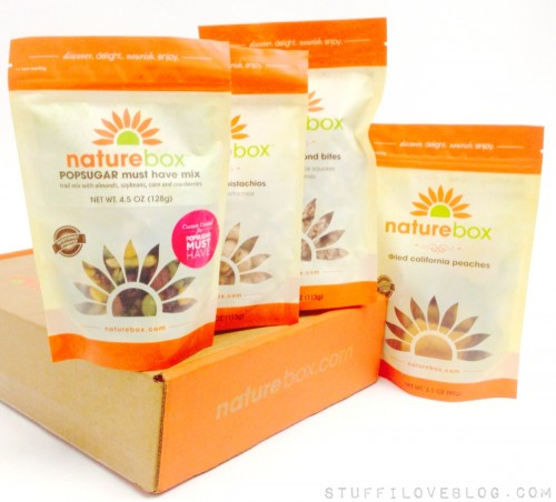 ... super easy thanks to these POPSUGAR Must Have Snacks by NatureBox