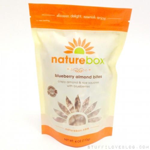 POPSUGAR Must Have Snacks by NatureBox Blueberry Almond Bites