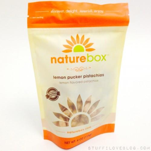 POPSUGAR Must Have Snacks by NatureBox Lemon Pucker Pistachios