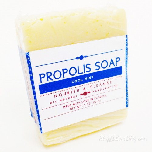 Propolis Cool Mint Soap from Scentsational Soaps