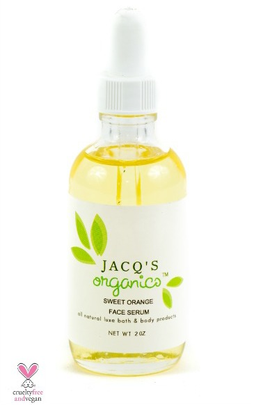 Jacqs Organics Sweet Orange Face Serum