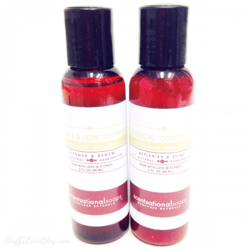 Scentsational Soaps Shampoo and Conditioner