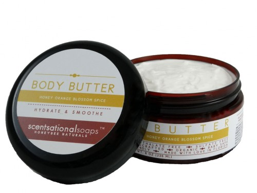 Honey Orange Blossom Spice Body Butter