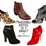 Fashionable Booties On A Budget