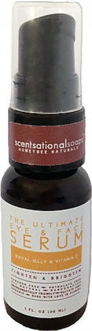 Scentsational Soaps HoneyBee Naturals The Ultimate Eye and Face Serum