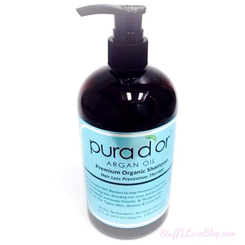 Pura D'or Premium Organic Anti-Hair Loss Argan Oil Shampoo