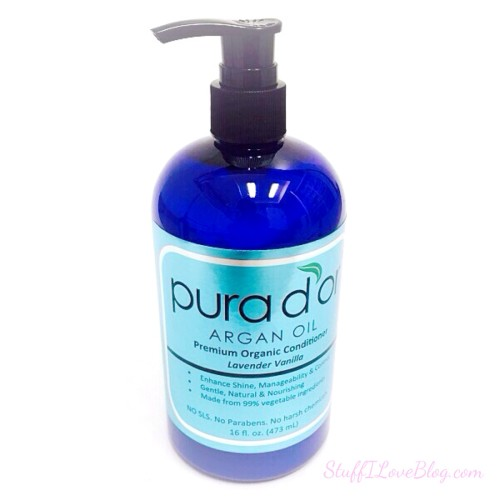 Pura D'or Premium Organic Lavender Vanilla Argan Oil Conditioner
