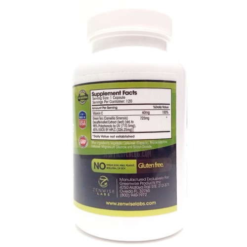 Zen wise Advanced Green Tea Extract