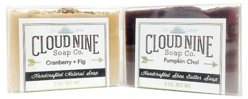 Artisanal Soaps from Cloud Nine Soap Co.