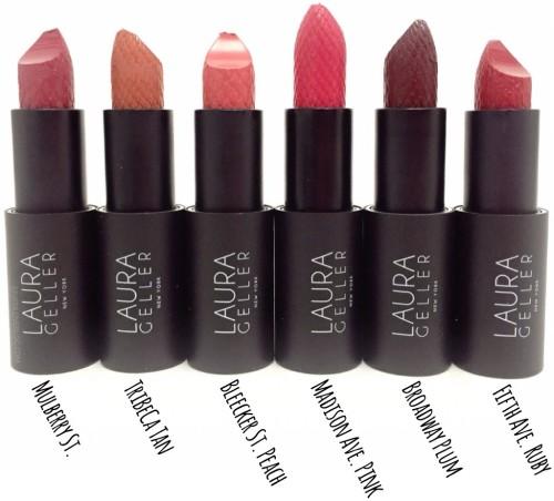LAURA GELLER New York Iconic Baked Sculpting Lipsticks