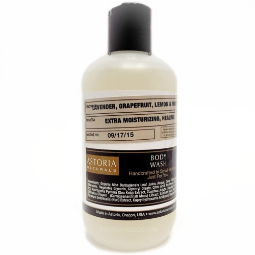 ASTORIA NATURALS Custom Body Wash Label