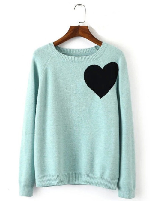 GENUINE PEOPLE HEART SWEATER