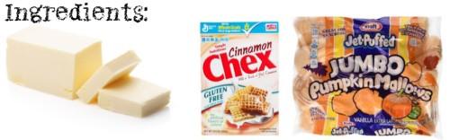 GLUTEN FREE Cinnamon Crispies Ingredients