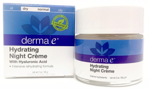 HYDRATING NIGHT CREME WITH HYALURONIC ACID from DERMA E