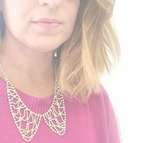 ROCKSBOX Crystal Collar Necklace via STUFF I LOVE BLOG